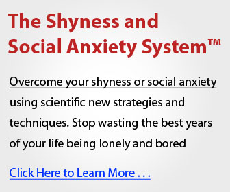 The Shyness and Social Anxiety System