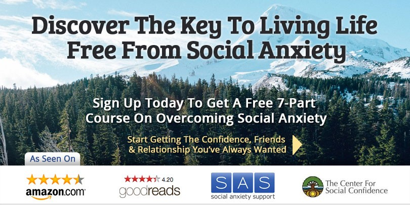Discover the key to living life free from social anxiety with our 7-part email course