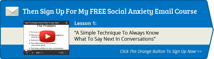 sign up on the right for sean cooper's social anxiety email lessons